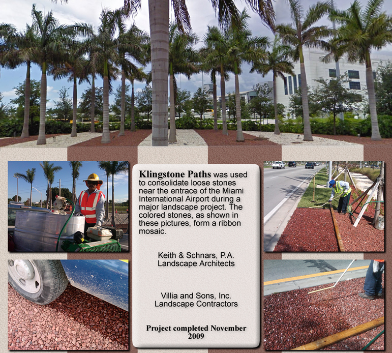 Klingstone Paths @ the Miami International Airport